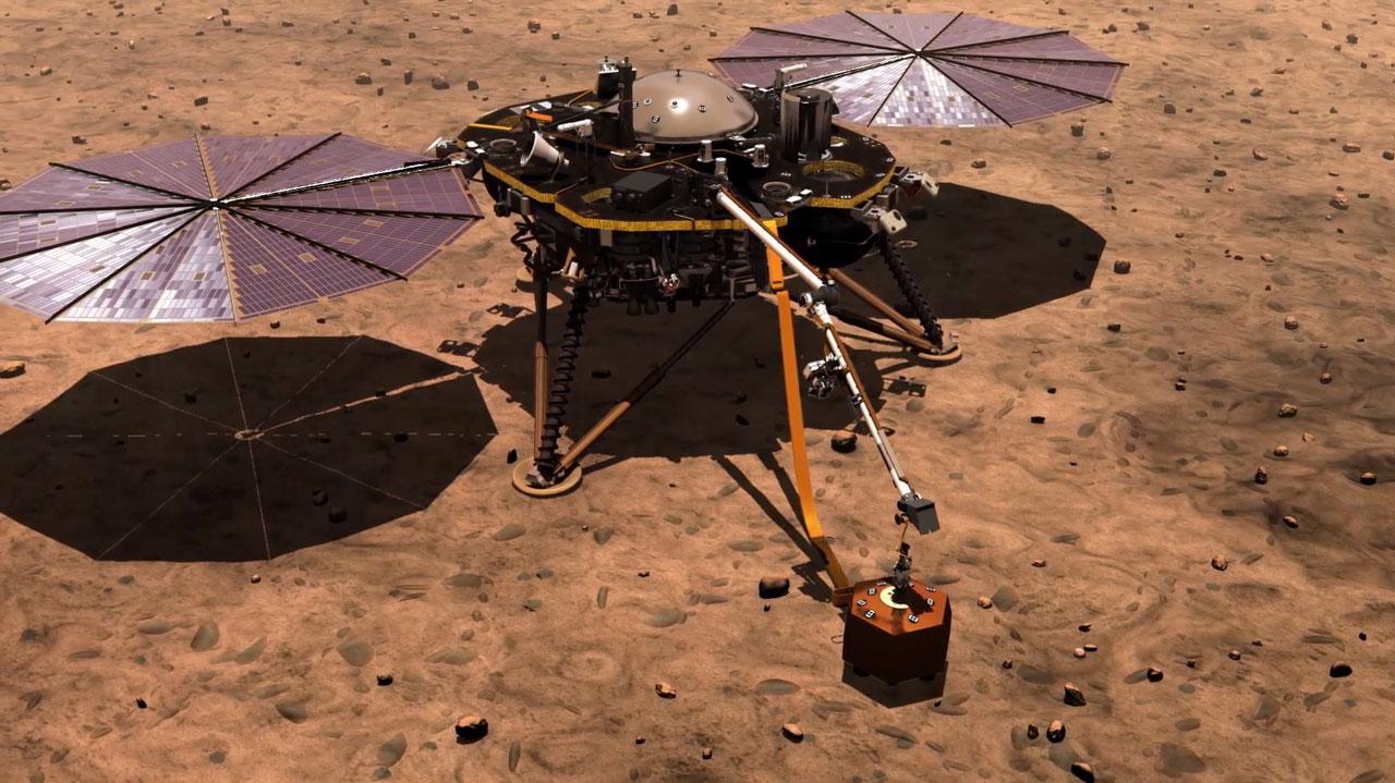 mars insight landing animation - photo #7
