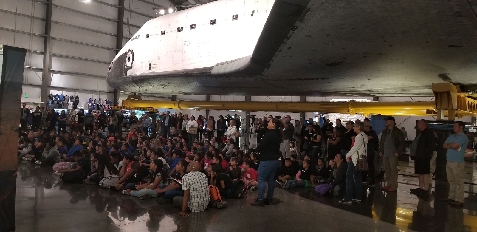 California Science Center Hosts a Launch Viewing Party ...
