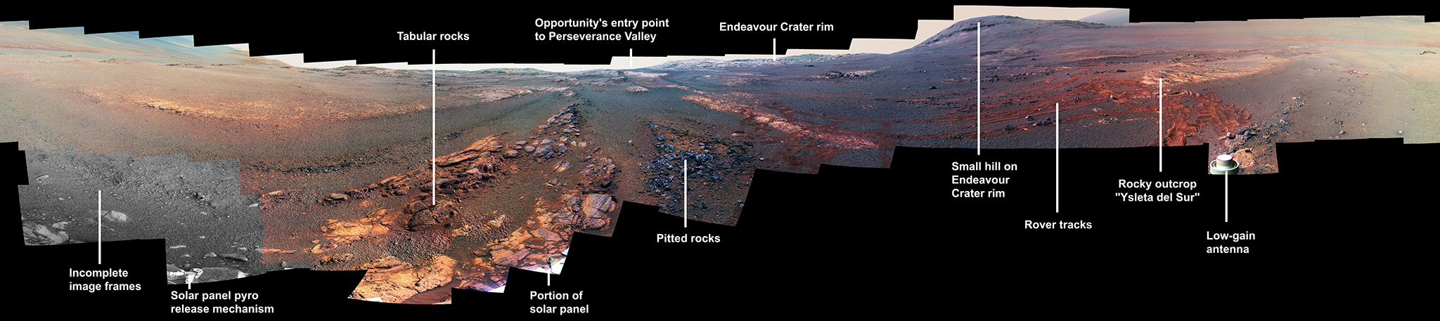 Opportunity Legacy Pan