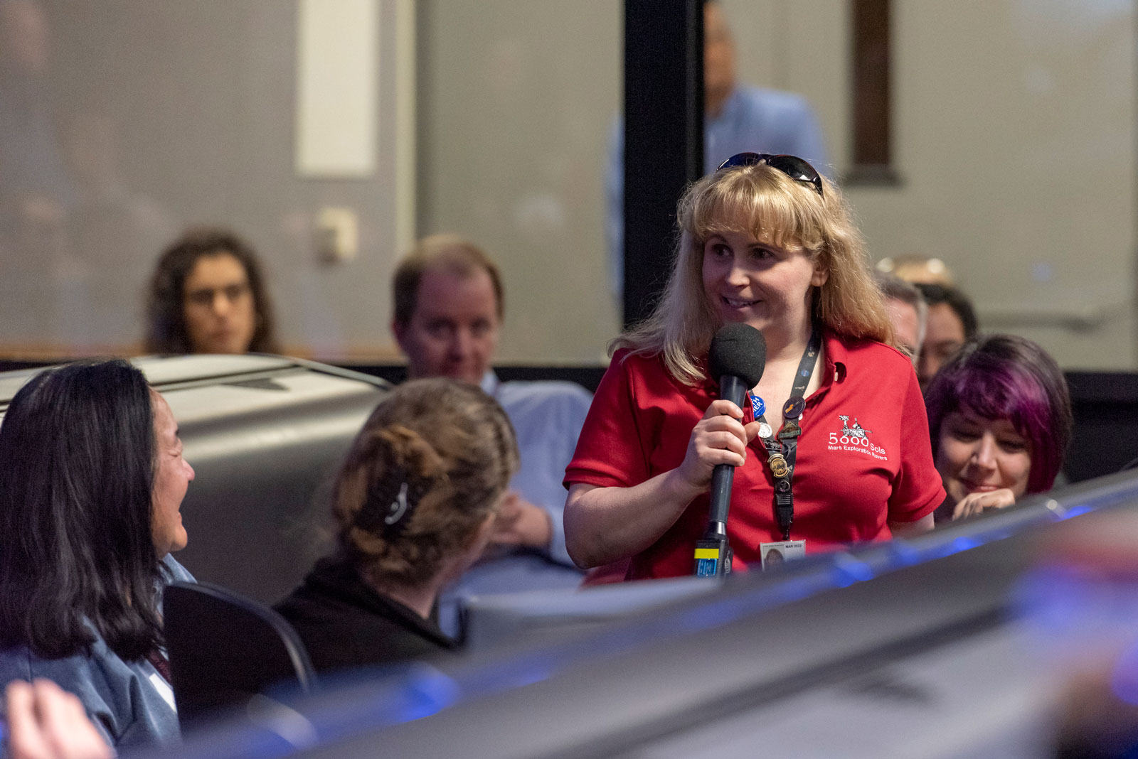 As the NASA Opportunity rover team gathered to talk about the last attempts to listen for the rover's signals from Mars, Ashley Stroupe shared her story about working with the long-lived robotic geologist.