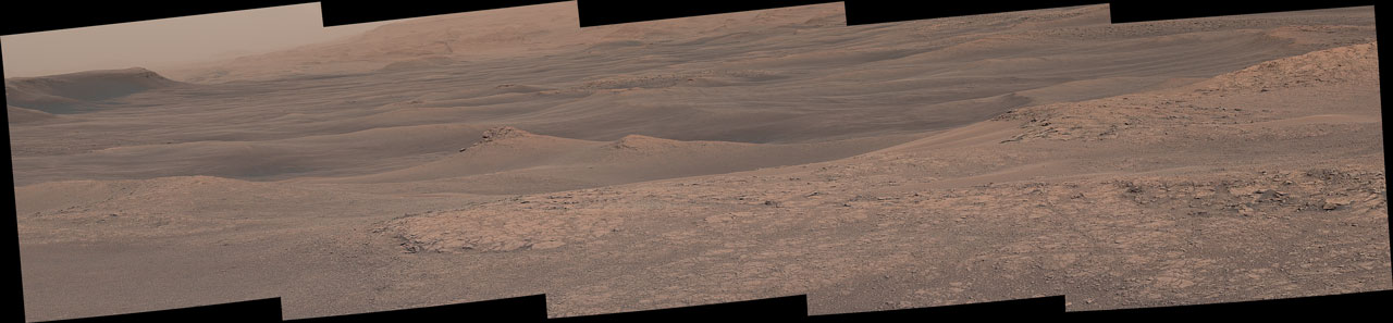 Curiosity Sees 'Waves' in the Clay Unit