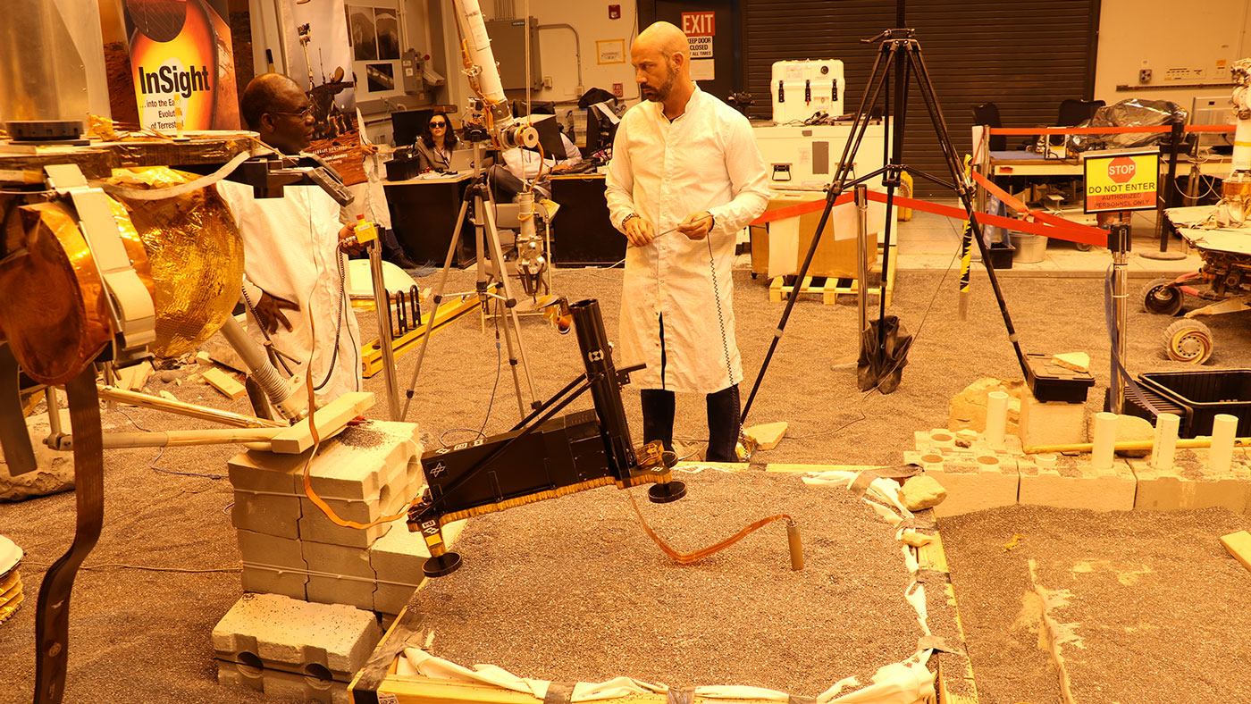 JPL Engineers Test Heat Probe Strategies
