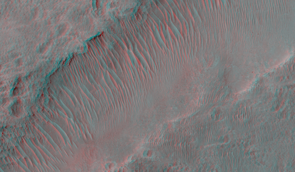This image shows a lobate tongue on the Northwest Hellas rim.