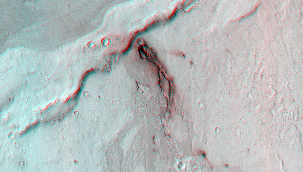 The Cerberus Fossae are a group of troughs in the Cerberus region of Mars that run roughly parallel to one another.