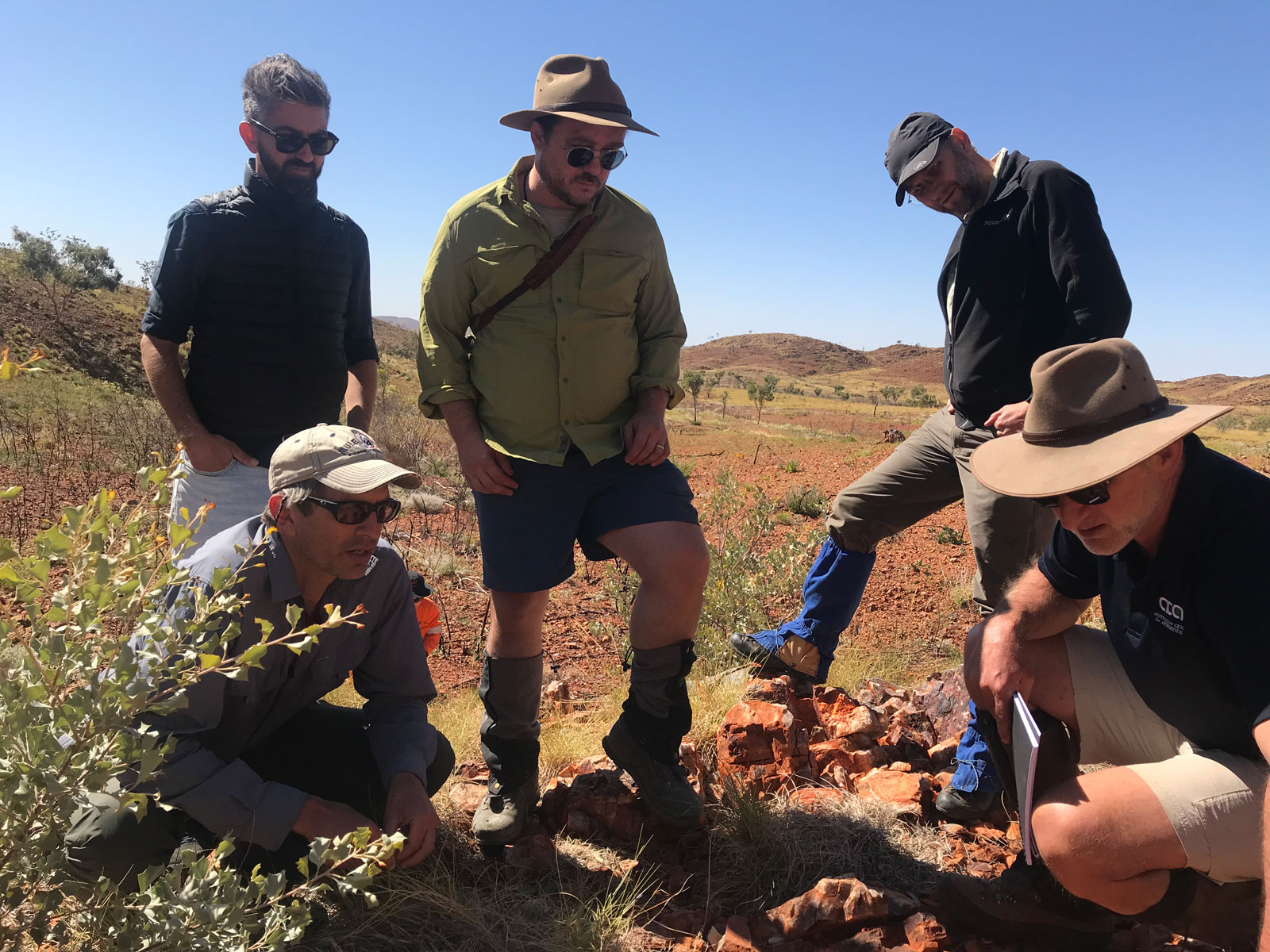 Scientists with NASA's Mars 2020 mission and the European-Russian ExoMars mission traveled to the Australian Outback to hone their research techniques before their missions launch to the Red Planet in the summer of 2020 to search for signs of ancient life on Mars.