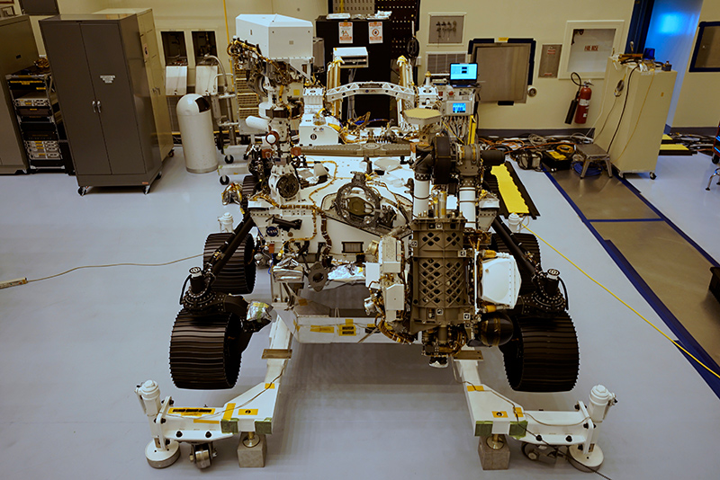Perseverance rover at Kennedy Space Center