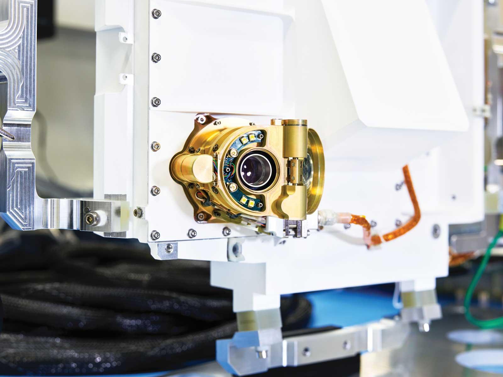 Mars 2020's SHERLOC Instrument