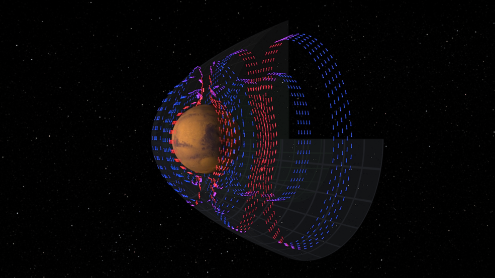 MAVEN Maps Electric Currents Affecting Mars Atmosphere