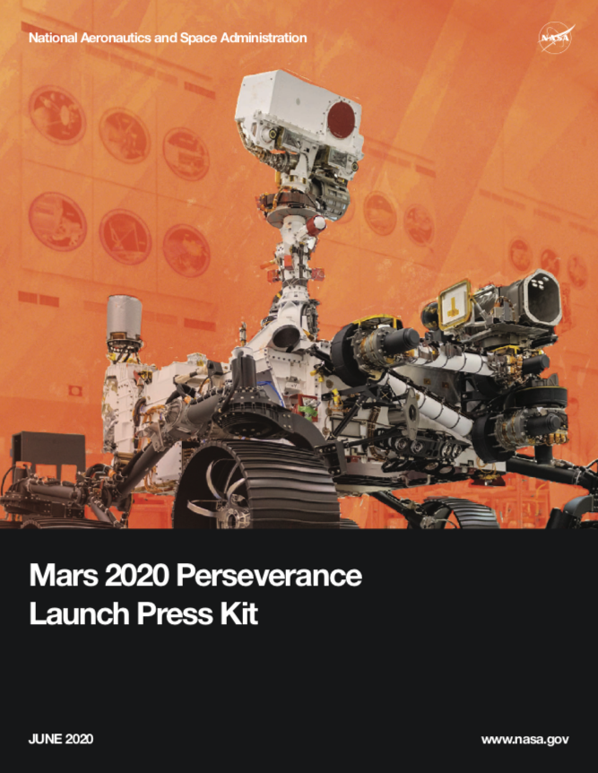 Mars 2020 Perseverance Launch Press Kit