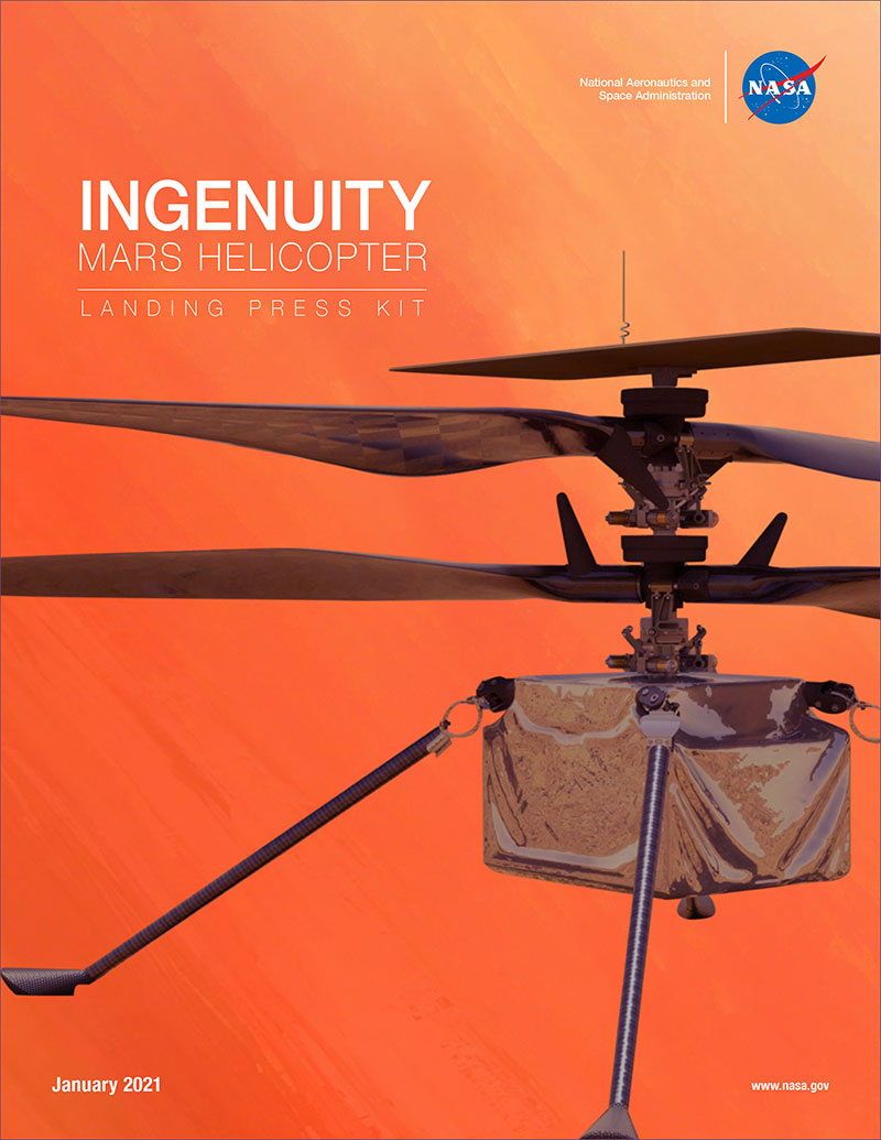 Mars Helicopter Ingenuity Landing Press Kit