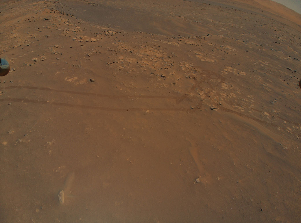 Mars Helicopter Reveals Intriguing Terrain for Rover Team
