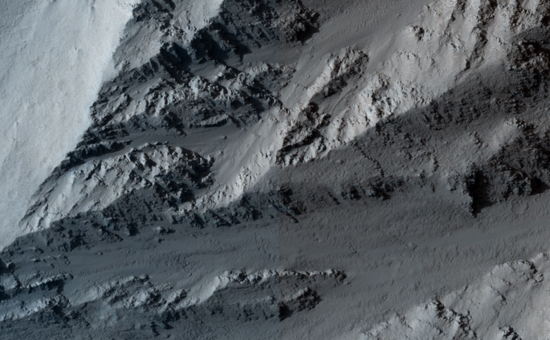 Collapsing Volcano; Edge of Olympus Mons