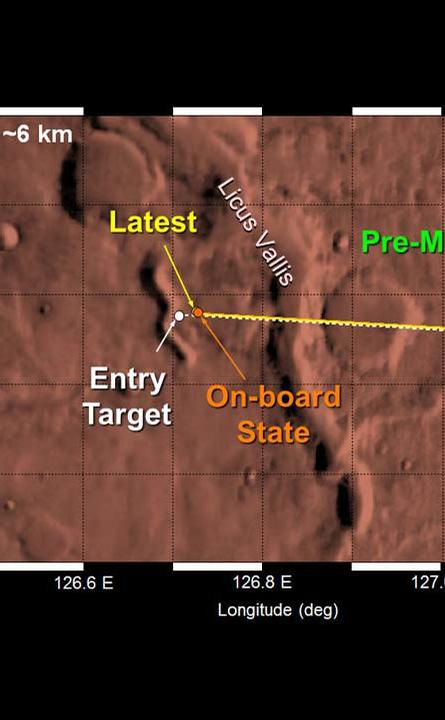 Curiosity Landing Area, Up-Close