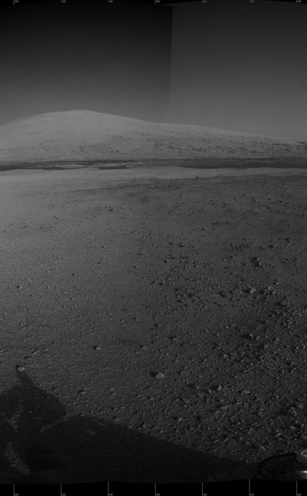 The Heights of Mount Sharp