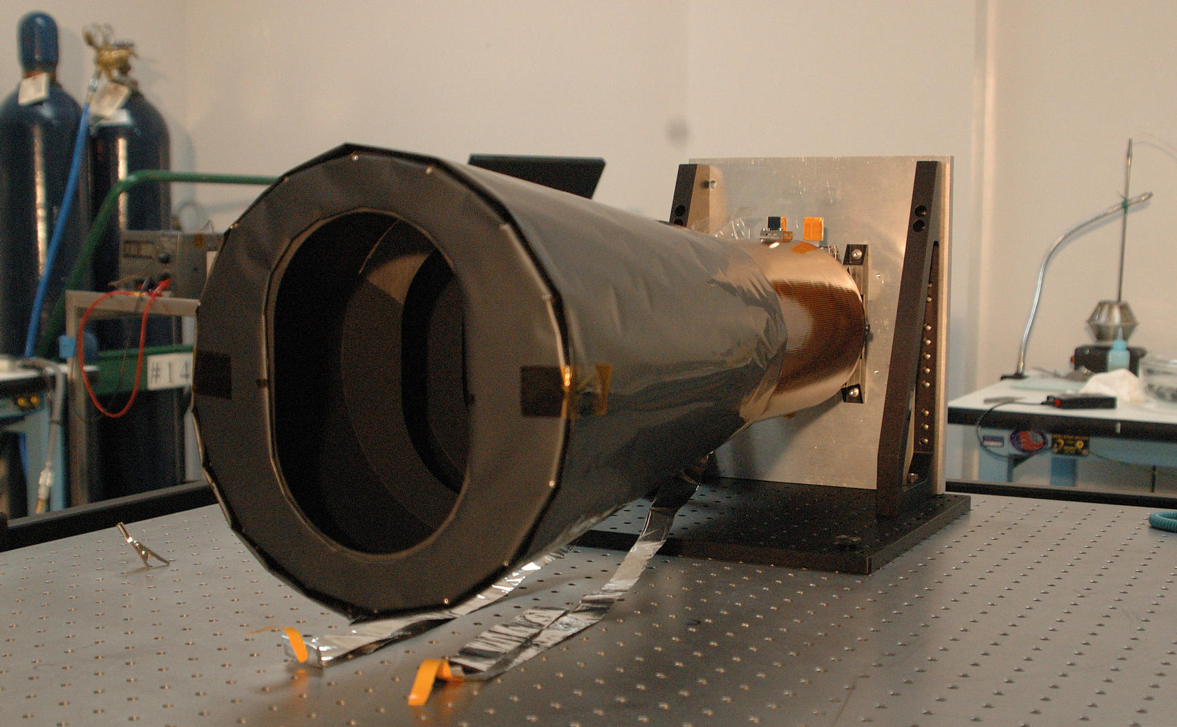 The MRO Context Camera, CTX, at Malin Space Science Systems in 2004, before it was delivered and mounted on the spacecraft.