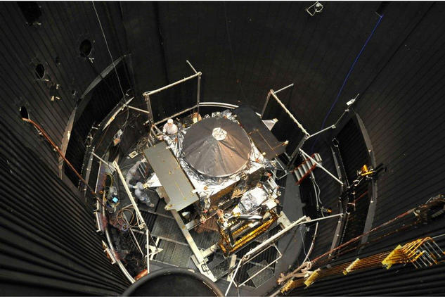 On May 16, 2013, the MAVEN spacecraft began nearly three weeks of thermal vacuum cycling, where it was exposed to the temperature swings it will experience during its mission to study the Martian upper atmosphere.