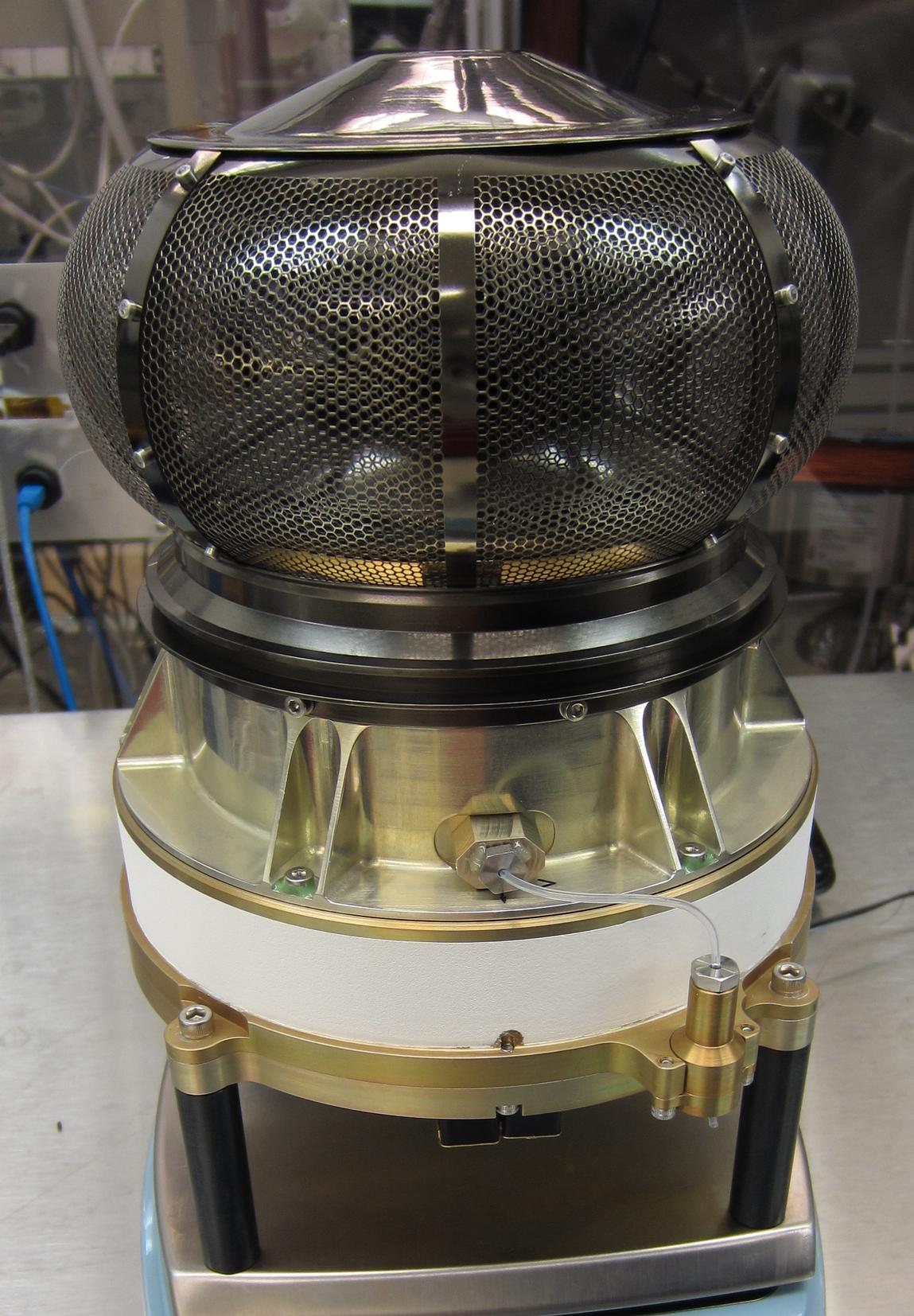The Solar Wind Electron Analyzer, shown here before being delivered to Lockheed Martin for integration with the MAVEN spacecraft.