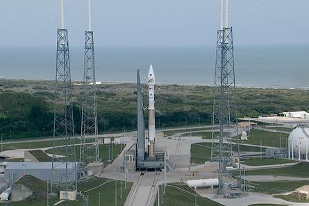 Fueling of MAVEN's Atlas V Rocket Underway