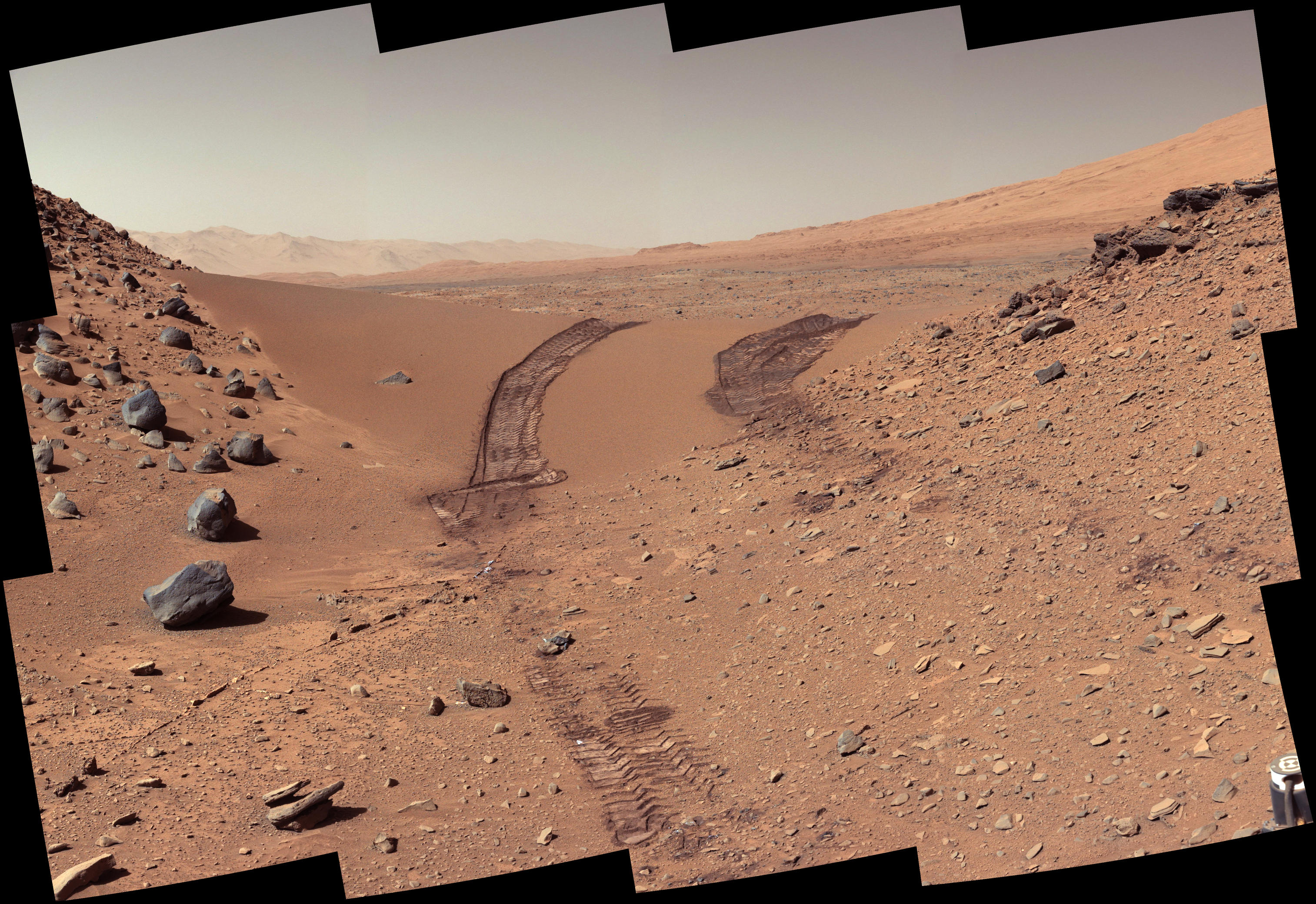 curiosity rover color - photo #16