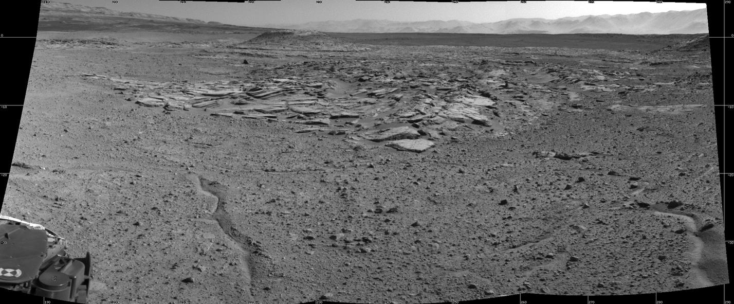 Curiosity's View From Arrival Point at 'The Kimberley' Waypoint