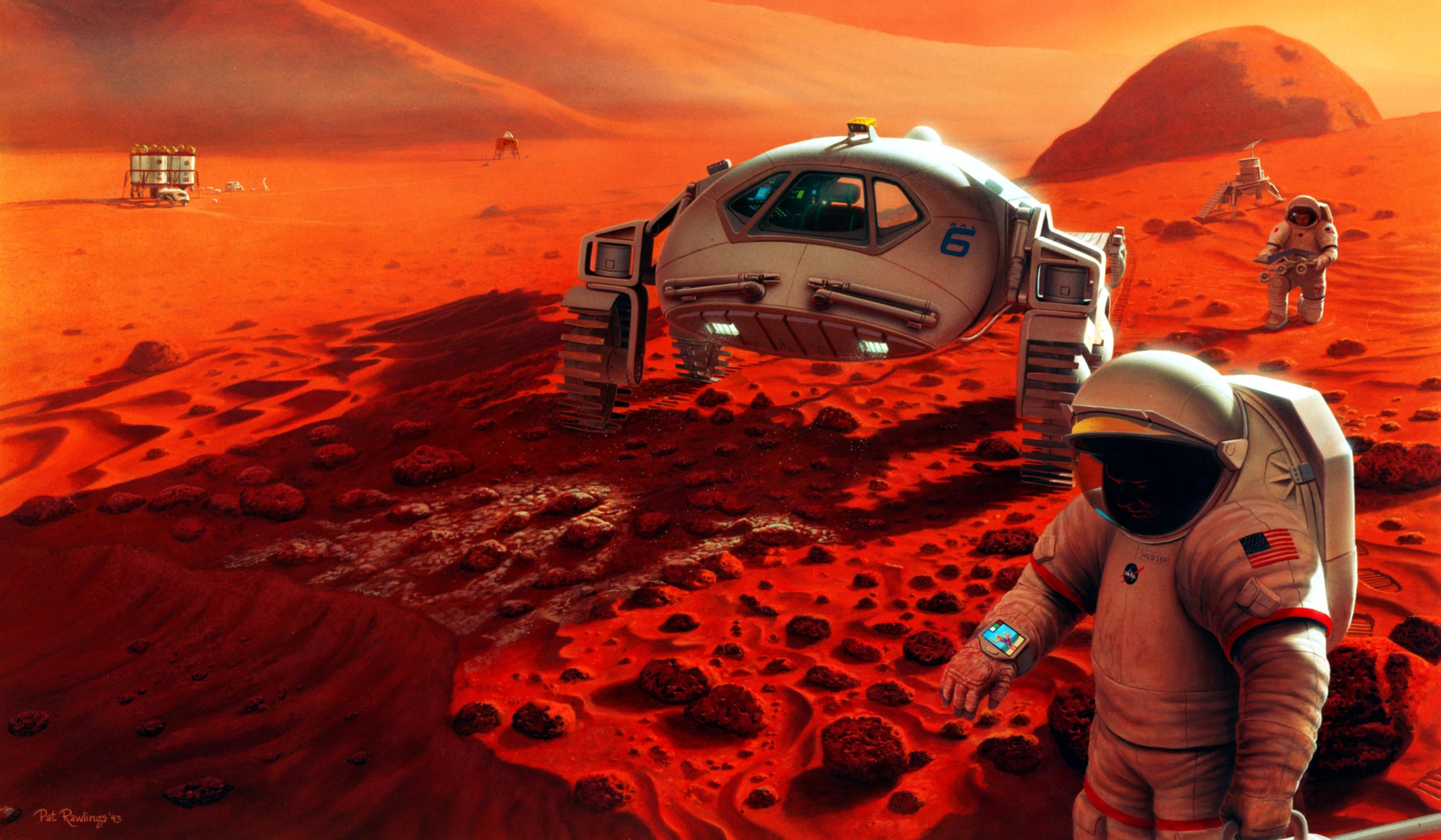 humanitys mission to find life on mars