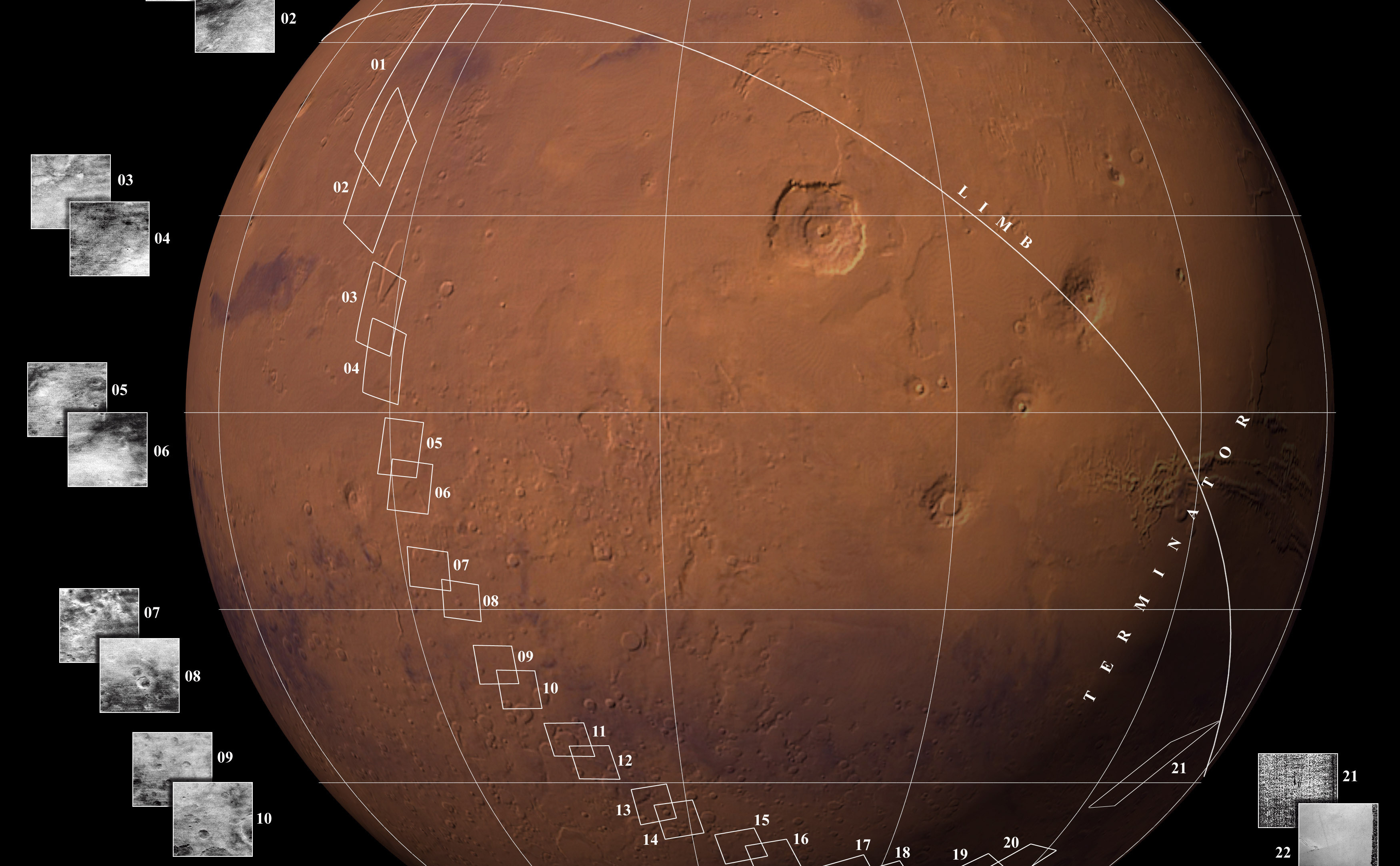 current mars missions - HD3500×2166