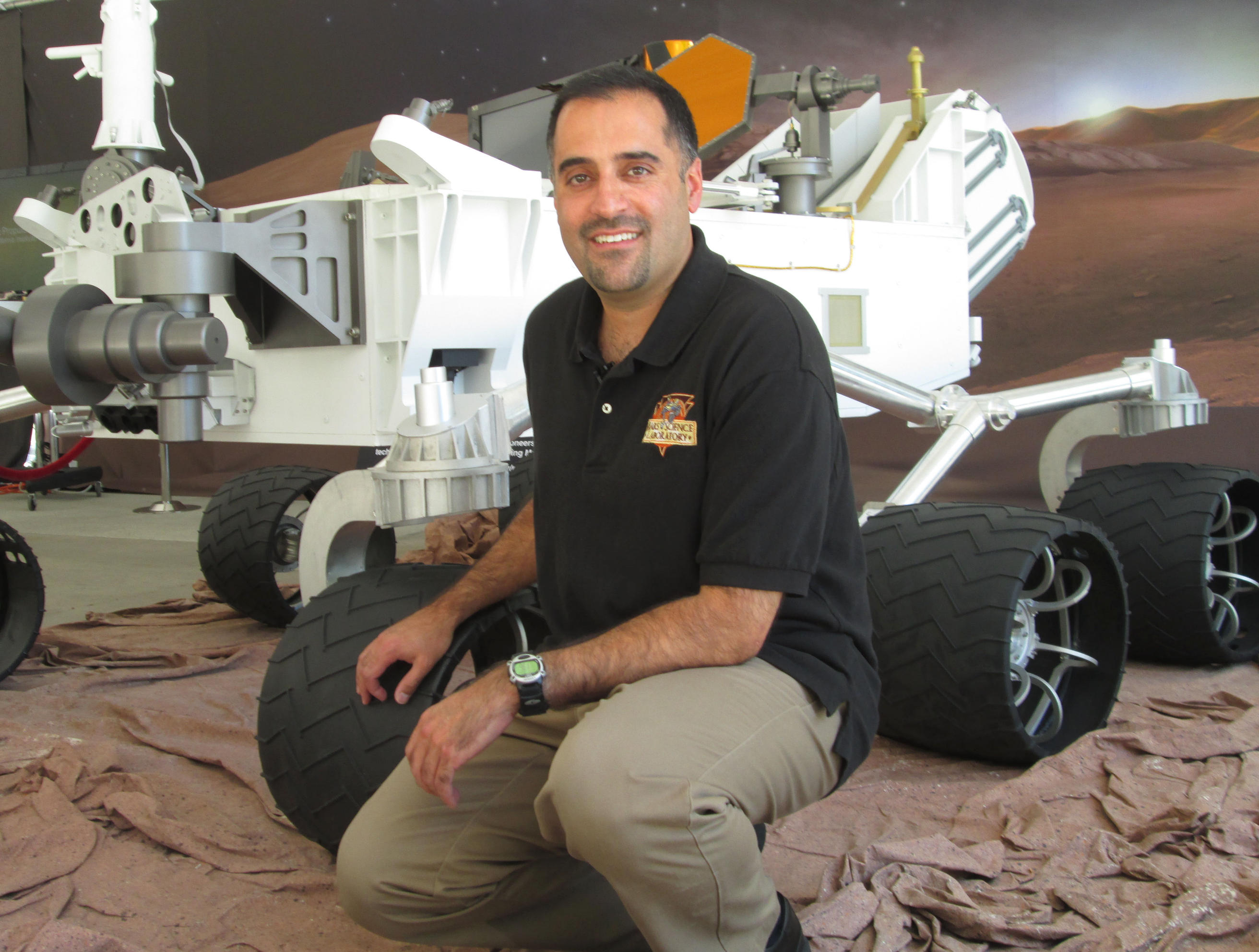 Ashwin Vasavada of NASA's Jet Propulsion Laboratory, Pasadena, California, became the project scientist for NASA's Mars Science Laboratory Project in January 2015.