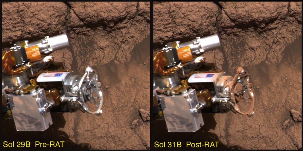 Dirty RAT – NASA's Mars Exploration Program
