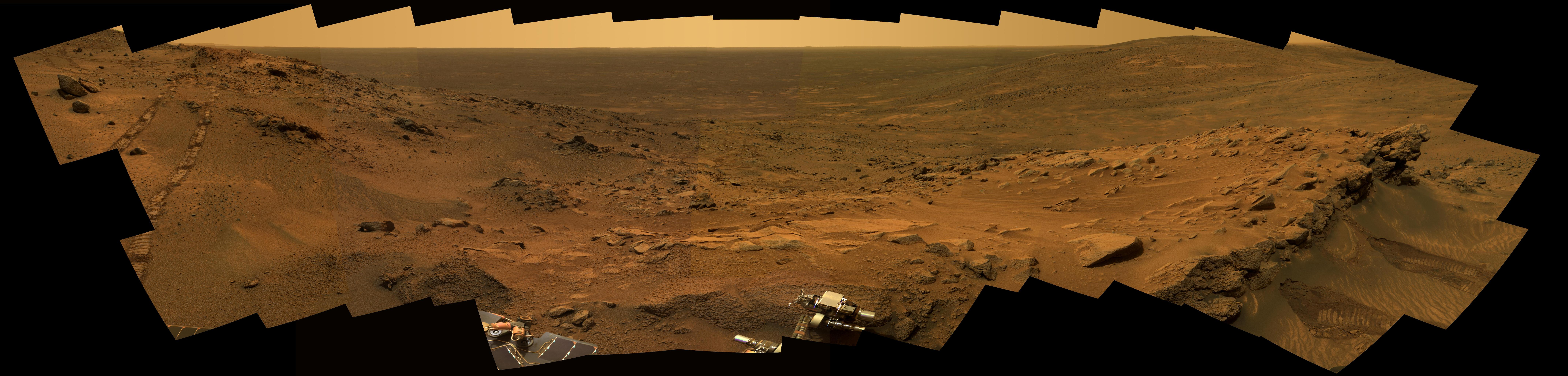 More than 1.5 years into their exploration of Mars, both of NASA's Mars Exploration Rovers continue to send a cornucopia of images to Earth.