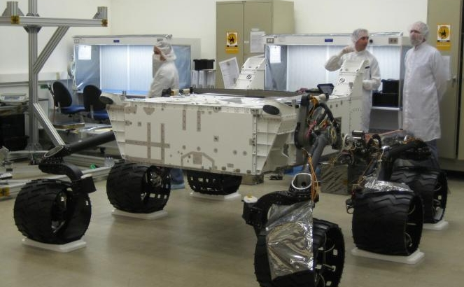 Next NASA Mars Rover Gets Its Wheels
