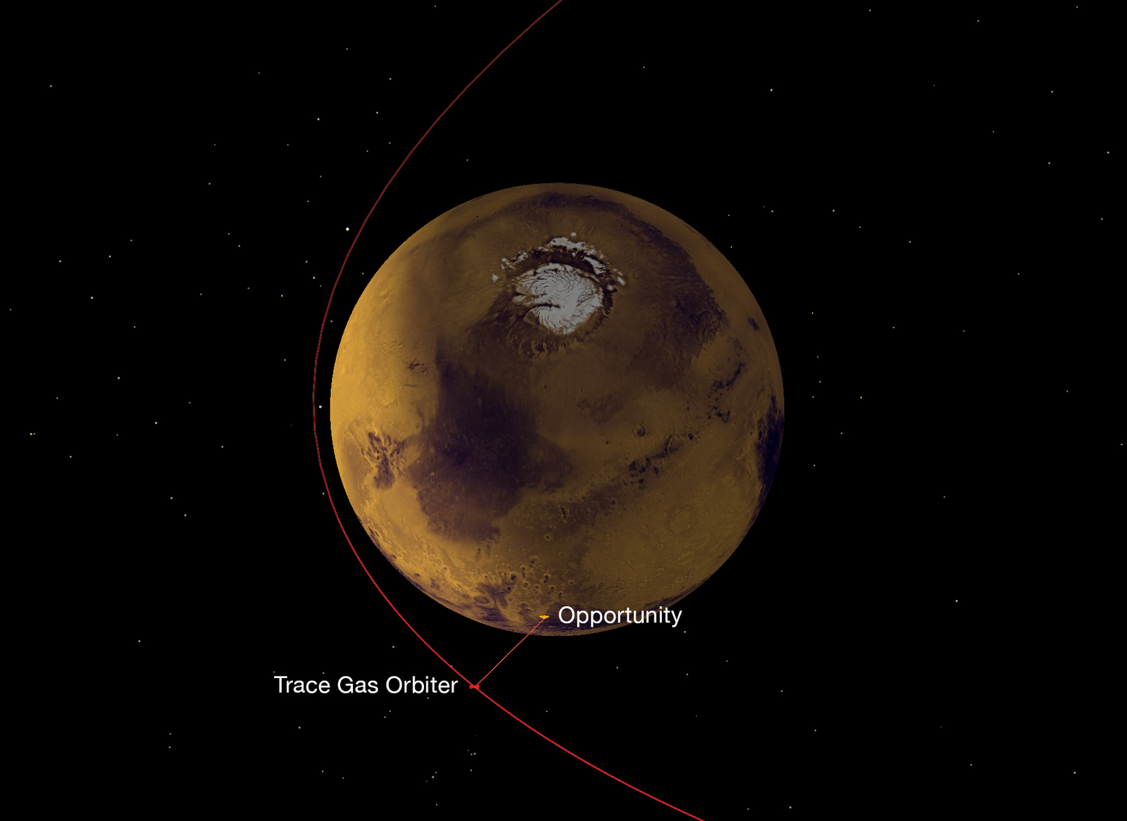 Mars through the eyes of TGO 100