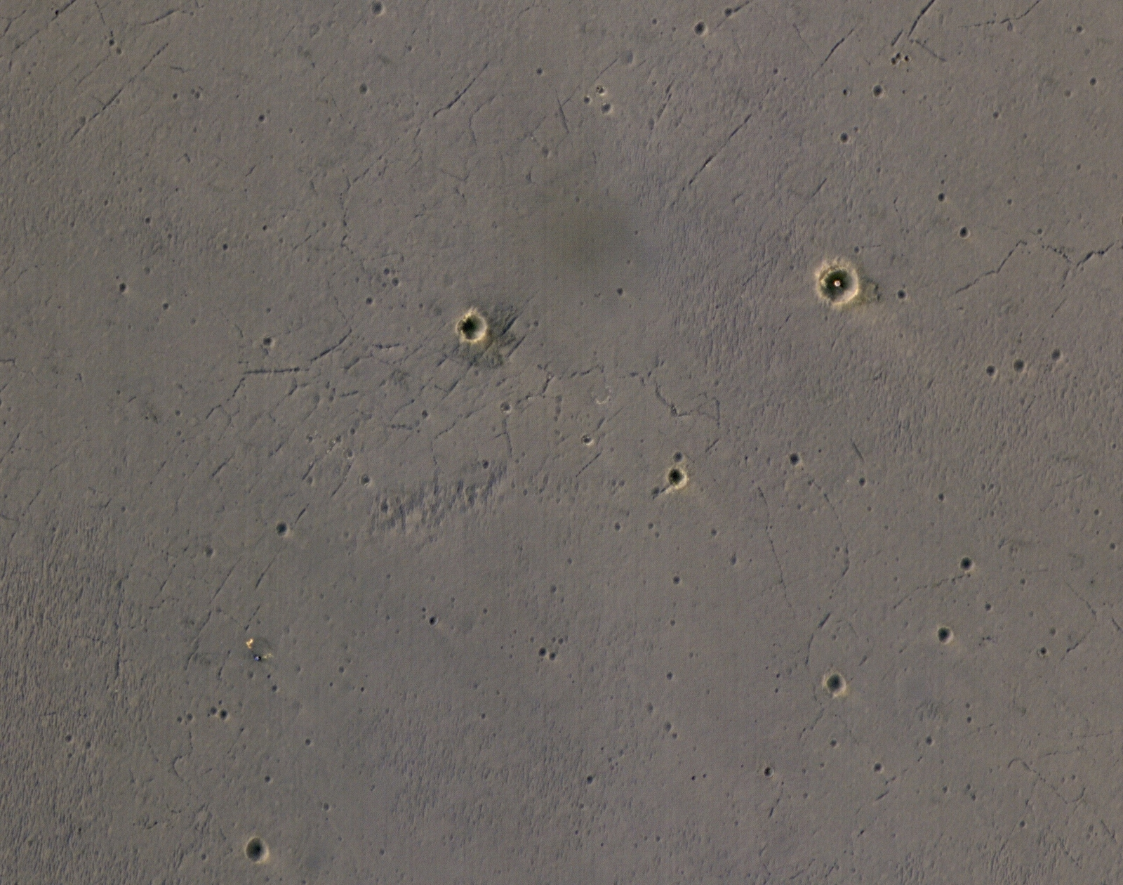 Rover's Landing Hardware at Eagle Crater, Mars