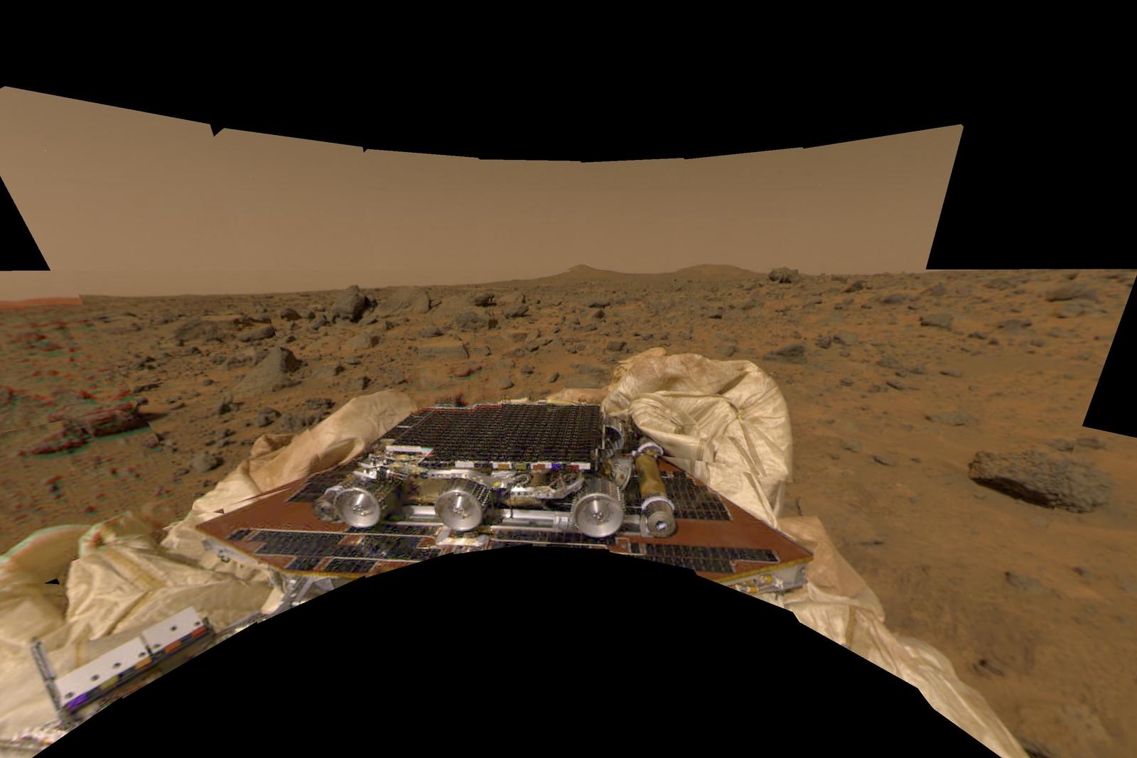mars rover july 4 1997 - photo #7