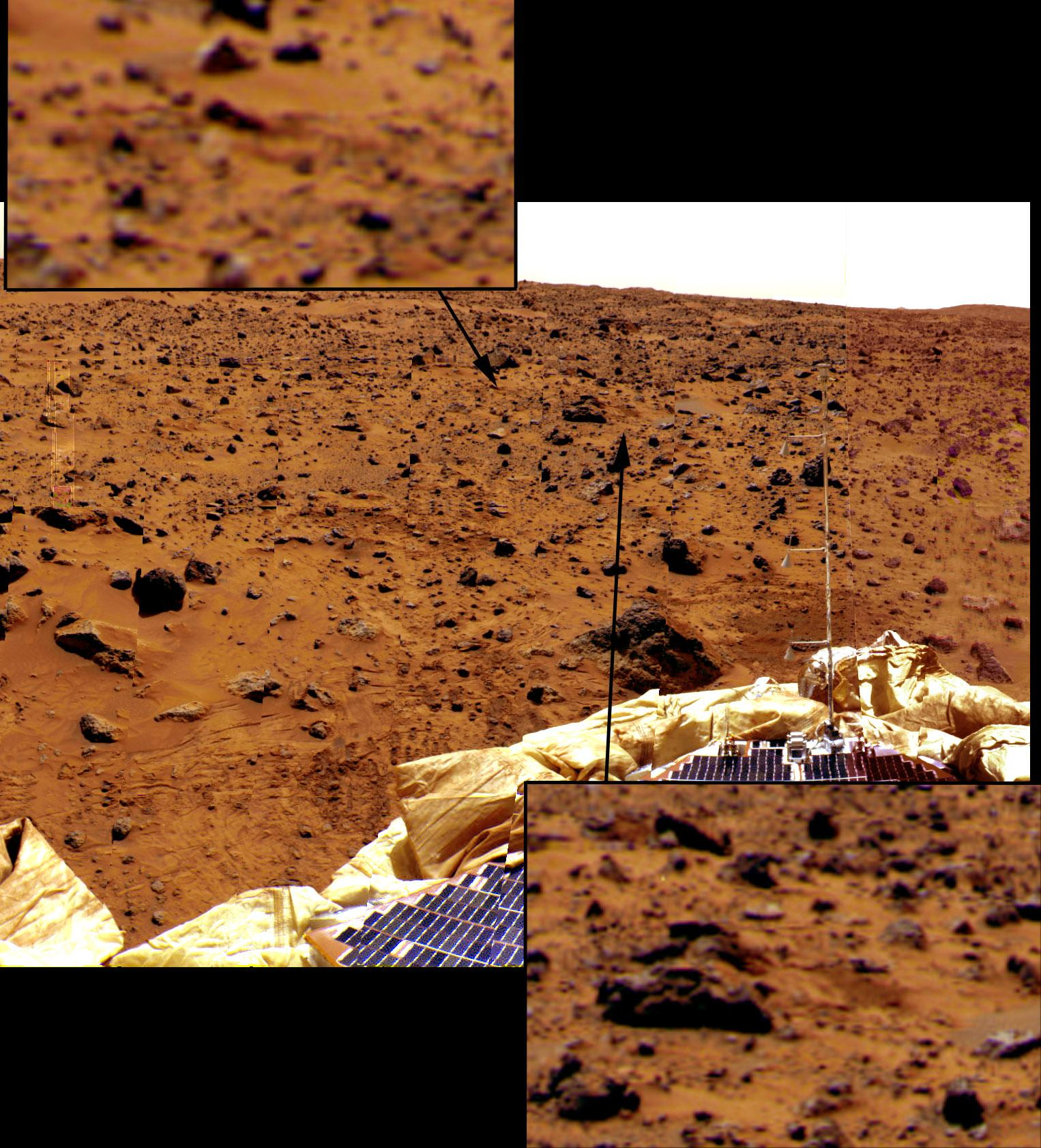 mars rover landing bouncing - photo #4
