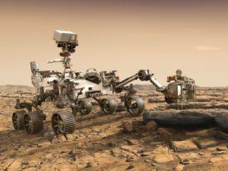NASA's Mars 2020 Rover Artist's Concept #2