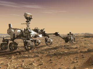 NASA's Mars 2020 Rover Artist's Concept #3