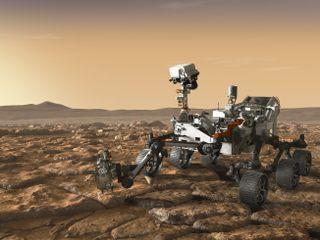 NASA's Mars 2020 Rover Artist's Concept #4