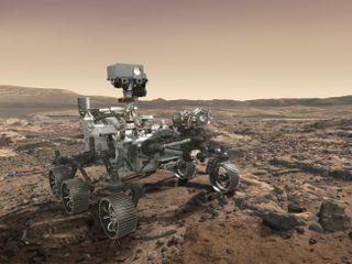 NASA's Mars 2020 Rover Artist's Concept #7