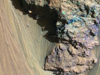 Geologic History Revealed in Valles Marineris