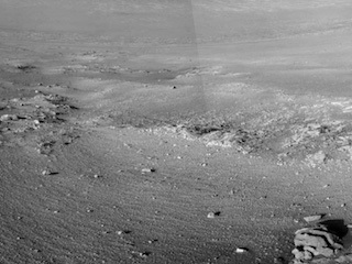 Rock Stripes Pattern in Mars' 'Perseverance Valley'
