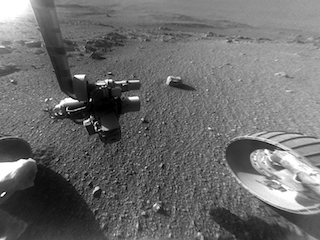 Opportunity Views Ground Texture in 'Perseverance Valley'