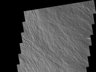 Cone on Olympus Mons