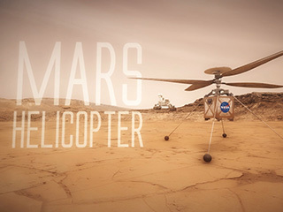 The Mars Helicopter is a technology demonstration that will fly as a secondary payload with the Mars 2020 mission. It will demonstrate the potential of aerial flight on Mars, which may enable more ambitious missions in the future.