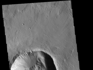 Utopia Planitia Crater