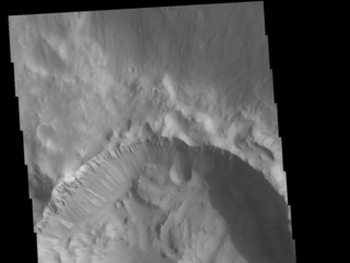 Crater Dark Slope Streaks