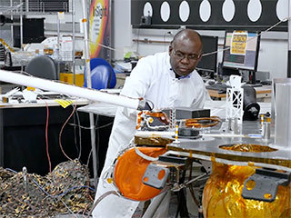 Inside InSight: Ghanaian Engineer Works on Robotic Arms for Mars