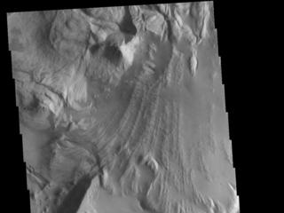 Ganges Chasma Landslide