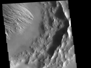 Daedalia Planum Crater