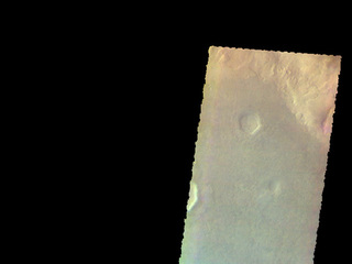 Proctor Crater Dunes - False Color