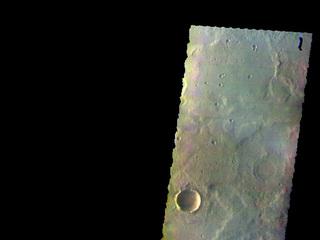 Terra Cimmeria - False Color